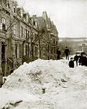 A Montreal Street in Winter