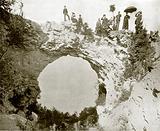 Arch Rock, Mackinac Island