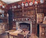 The Panelled Study at Groombridge Place