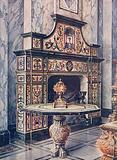 Chimneypiece in Coloured Mosaic. Florentine. Florentine.