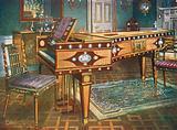 Late Eighteenth-Century Decorative Furniture. Satinwood and Mahogany Inlaid Pianoforte …