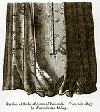 Portion of Robe of Anne of Bohemia