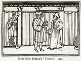 Scene from Roigny's 'Terence.' 1539