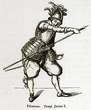 Pikeman. Temp. James I.