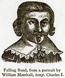 Falling Band, from a Portrait by William Marshall, temp. Charles I