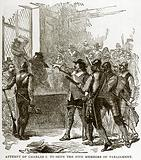 Attempt of Charles I to Seize the Five Members of Parliament