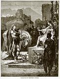 Caractacus before Caesar