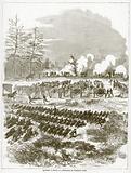 Batter D. , Fifth US Artillery, at Frazier's Farm.