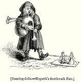 Dancing-Dolls. – Hogarth's Southwark Fair