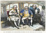Sea Amusement, or Commanders-in-Chief of Cup and Ball on a Cruise