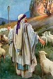 Moses Draws near the Flaming Bush