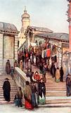 Ponte di Rialto, from the Market