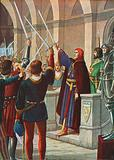 Cangrande della Scala appointed General of the League Ghibillini, December 1318