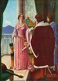 Queen Giovanna II of Naples nullifies the adoption of Alfonso d'Aragona