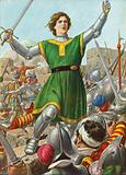 Caterina Sforza leads the resistance at Forli on 12 January 1500