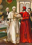 Pope Clement XIV taken by a sudden illness which was suspected to be caused by a poison …