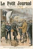 Arrest of Dr Crippen and Miss Le Neve on the Montrose