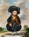 Queen Victoria when Princess Victoria, aged 4 years