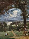 The Thames at Richmond from the Terrace