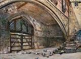 Traitors' Gate, from within