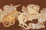 Tullia driving over the body of her father