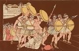 The death of Tarpeia