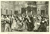 The Khedive's State Ball at the Abdeen Palace, Cairo, the Barn Dance