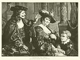 Rembrandt and Saskia