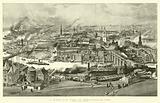 A Bird's Eye View of Newcastle-on-Tyne