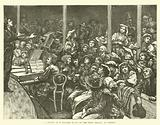A Sketch at a Concert given to the Poor Italians in London