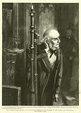 The Women's Franchise Bill, Mr Gladstone listening to the Numbers of the Division List from behind …