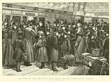 The End of the Holidays, Eton Boys leaving Paddington Station