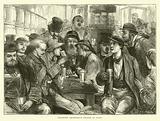 Absinthe Drinkers, a Sketch in Paris