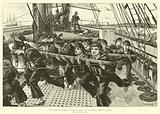 Our Future Bluejackets, a Scene on Board the Training-Ship Mercury, at Ryde
