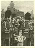 The Queen's Birthday, a Sketch on the Horse Guards Parade