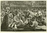 Henley, the Rush for Home at the End of the Regatta