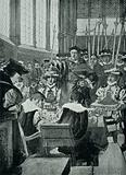 An intrusion by Wolsey upon the Commons