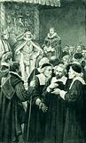 James VI as head of the Church, in St Giles, Edinburgh