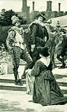 Mrs Welsh petitioning James VI to permit the return
