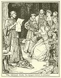 The Cardinal Reads the King's Letter to Jeanne