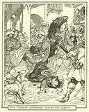 Two Spanish Gentlemen Rescue the Queen