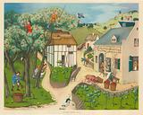 The apple harvest 15th Century