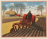 Ploughing in England