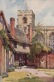 The Grammar School and Guild Chapel, Stratford-on-Avon