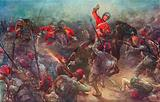 The Charge of Drury Lowe's Cavalry at Kassassin, August 28th, 1882