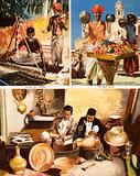 Brass and copper smith. Men of India.