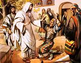The poor leper