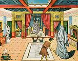A rich man's house in ancient Rome