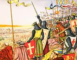 Crusaders see Jerusalem for the first time