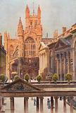 The Grand Pump-Room and Abbey, Bath
